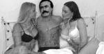 عکس جعلی فریدون فرخزاد با دو دختر سکسی در آلمان